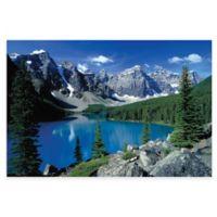 Moraine Lake II, Banff Photographic Canvas Wall Art