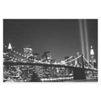 New York Black and White Photographic Canvas Wall Art