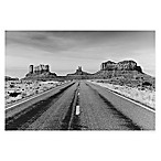 Road to Monument Valley, Arizona Photographic Canvas Wall Art
