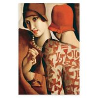 Tamara de Lempicka Les Confidences Canvas Wall Art