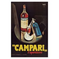 Marcello Nizzoli Campari L'aperitivo Canvas Wall Art