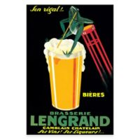 Brasserie Lengrand Canvas Wall Art
