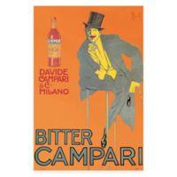 Leonetto Cappiello Bitter Campari Canvas Wall Art
