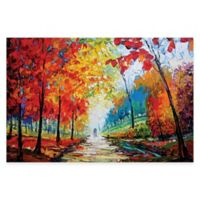 Maya Green Autumn Impressions Wall Art