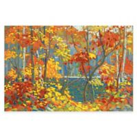 Tom Thomson The Pool Canvas Wall Art