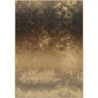 Aria Rugs Galaxy Faded Metal 5-Foot 3-Inch x 7-Foot 6-Inch Area Rug in Pewter