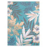 United Weavers Sea Garden 5-Foot 3-Inch x 7-Foot 2-Inch Multicolor Area Rug
