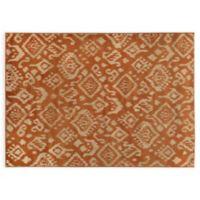 Oriental Weavers ELLA Tribal 3-Foot 3-Inch x 5-Foot 5-Inch Accent Rug in Orange