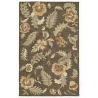 Kaleen Khazana Hana 3-Foot x 5-Foot Area Rug in Charcoal
