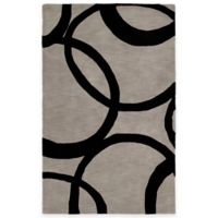 Kaleen Astronomy Gamma 2-Foot x 3-Foot Accent Rug in Graphite