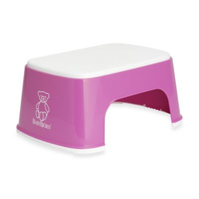 babybjorn step stool in pink - Childrens Step Stool