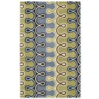 Kaleen Casablanca Axel 2-Foot x 3-Foot Accent Rug in Blue