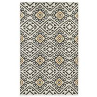 Kaleen Nomad Tribal 3-Foot 6-Inch x 5-Foot 6-Inch Area Rug in Charcoal