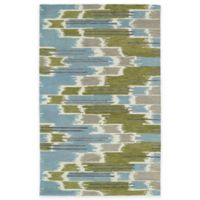 Kaleen Global Inspirations Watercolor Ikat 2-Foot x 3-Foot Accent Rug in Wasabi