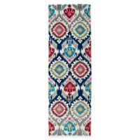 Kaleen Global Inspirations Boho 2-Foot 6-Inch x 8-Foot Multicolor Runner