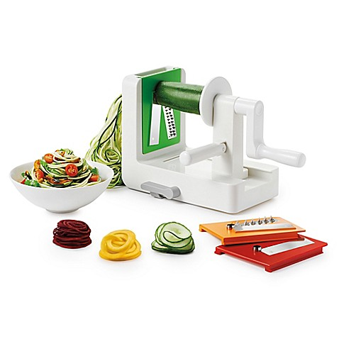 oxo good grips 174 tabletop spiralizer bed bath beyond