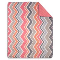 Keeco Chevron Indoor/Outdoor Throw Blanket