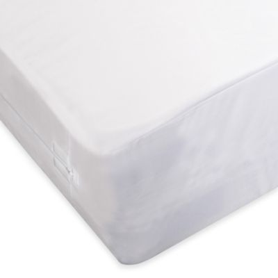 protectabed allerzip mattress encasement in white - Mattress Encasement