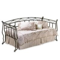 Hillsdale Camelot Daybed with Suspension Deck and Trundle in Black/Gold