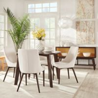 Verona Home 5-Piece Hudson Round Dining Set in White