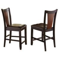 Steve Silver Oakton Counter Chairs in Cherry (Set of 2)