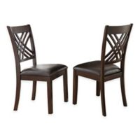 Steve Silver Co. Adrian Side Chair in Cherry (Set of 2)
