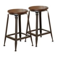 Steve Silver Co. Adele Counter Stools in Light Oak (Set of 2)