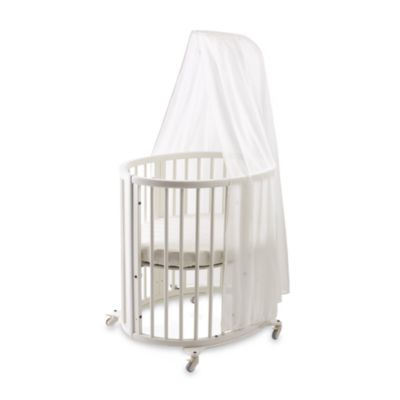Bed Canopies u003e Sleepi™ Bassinet White Canopy by Stokke®  sc 1 st  buybuy BABY & Canopy Cribs for Babies from Buy Buy Baby