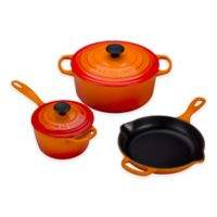 Le Creuset® Signature 5-Piece Cookware Set in Flame
