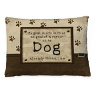 Laural Home Dog's Opinion Fleece Dog Bed