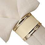 White House Napkin Ring in Cream