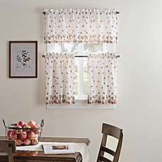 Fresh Bloom Kitchen Window Curtain Tiers And Valance