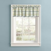Bistro Plaid Window Valance