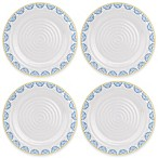 Sophie Conran for Portmeirion® Blue Medallions Melamine Dinner Plates (Set of 4)