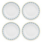 Sophie Conran for Portmeirion® Blue Medallions Melamine Salad Plates (Set of 4)