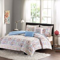 Intelligent Design Zoe 4-Piece Twin/Twin XL Comforter Set in Beige