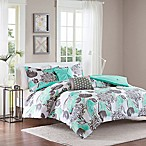 Intelligent Design Marie 5-Piece Full/Queen Comforter Set in Aqua