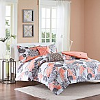 Intelligent Design Marie 5-Piece Full/Queen Comforter Set in Coral