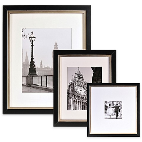 Artcare™ Taylor Picture Frame in Black/Champagne - Bed Bath & Beyond