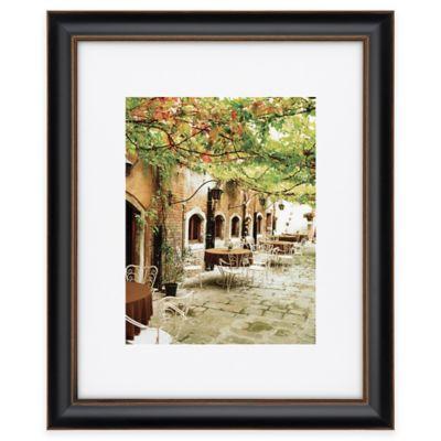 artcare tuscan 11 inch x 14 inch picture frame in blackgold