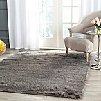 Safavieh Faux Sheep Skin 5-Foot x 7-Foot Area Rug in Grey