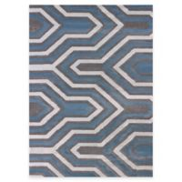 United Weavers Modern Texture Cupola 5-Foot 3-Inch x 7-Foot 2-Inch Area Rug in Charcoal