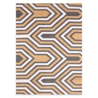 United Weavers Modern Texture Cupola 5-Foot 3-Inch x 7-Foot 2-Inch Area Rug in Harvest