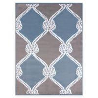 United Weavers Cordage 7-Foot 10-Inch x 10-Foot 6-Inch Indoor/Outdoor Area Rug in Blue