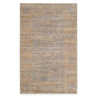 Safavieh Valencia Lines 5-Foot x 8-Foot Area Rug in Grey/Gold