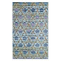 Safavieh Valencia Mirrors 5-Foot x 8-Foot Area Rug in Lavender/Gold