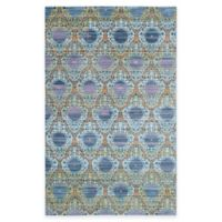 Safavieh Valencia Mirrors 6-Foot x 9-Foot Area Rug in Lavender/Gold