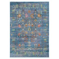 Safavieh Valencia Forest 3-Foot x 5-Foot Area Rug in Blue/Multi