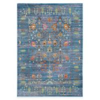 Safavieh Valencia Forest 5-Foot x 8-Foot Area Rug in Blue/Multi