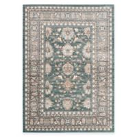 Safavieh Valencia Double Border 3-Foot x 5-Foot Area Rug in Green/Purple